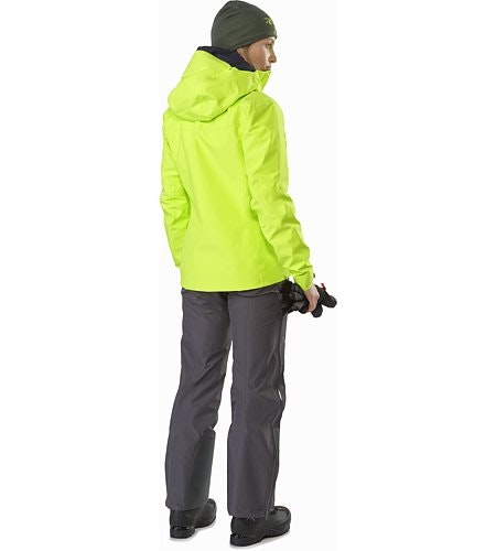 Alpha SV Jacket Women's Titanite Back View