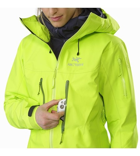 Alpha SV Jacket Women's Titanite Chest Pocket