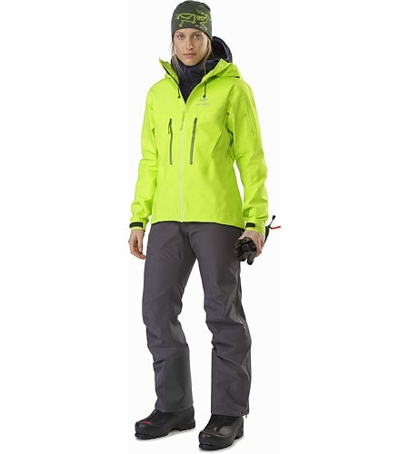Alpha SV Jacket Women's Titanite Front View