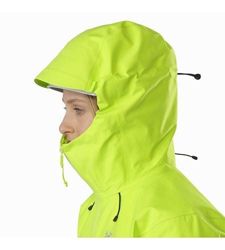 Alpha SV Jacket Women's Titanite Helmet Compatible Hood