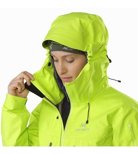 Alpha SV Jacket Women's Titanite Hood Adjuster