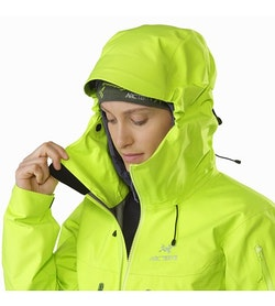 Alpha SV Jacket Women's Titanite Hood Adjuster