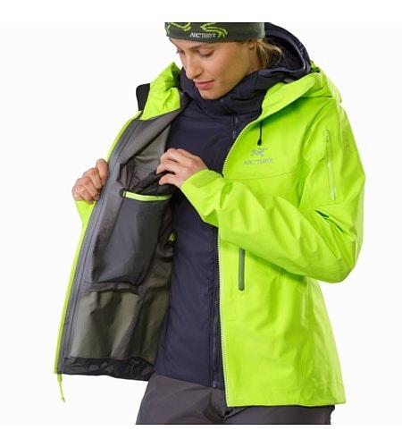 Alpha SV Jacket Women's Titanite Internal Dump Pocket