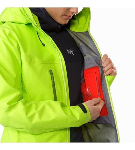 Alpha SV Jacket Women's Titanite Internal Security Pocket