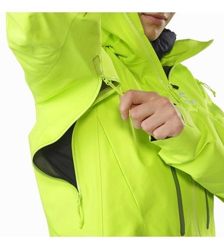 Alpha SV Jacket Women's Titanite Pit Zip