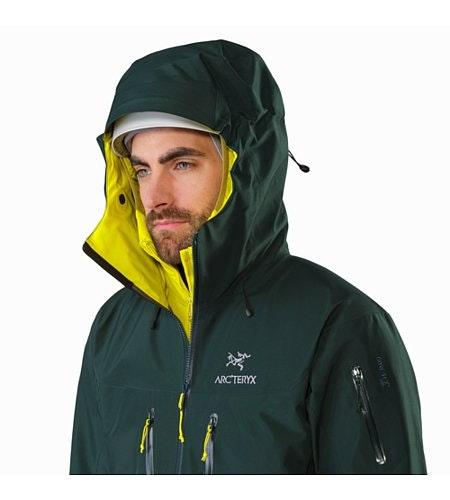 Alpha SV Jacket Zevan Helmet Compatible Hood