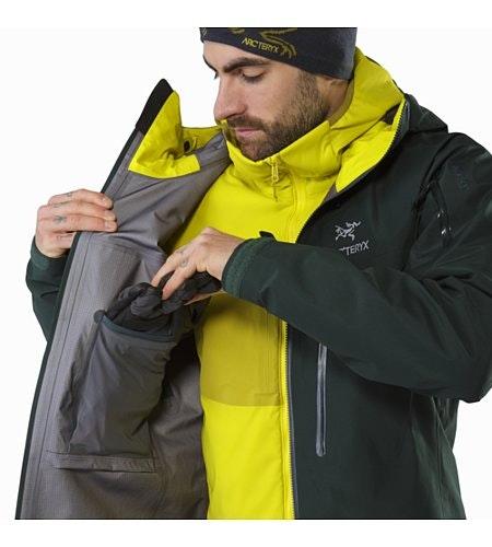 Alpha SV Jacket Zevan Internal Dump Pocket