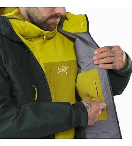 Alpha SV Jacket Zevan Internal Security Pocket