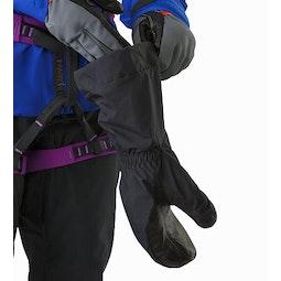 Alpha SV Mitten Black Over Alpha SL Glove