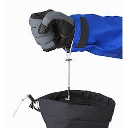 Alpha SV Mitten Black Removable Wrist Leash