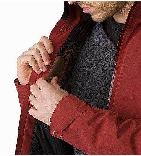 Ames Jacket Pompeii Internal Pocket