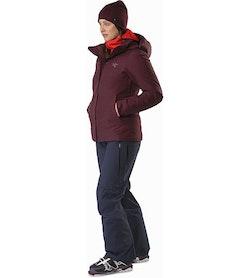 Andessa Jacket Women's Crimson Front View