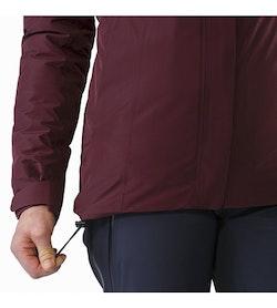 Andessa Jacket Women's Crimson Hem Adjuster