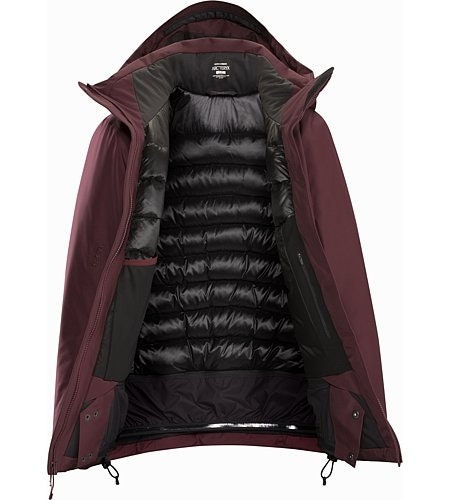 Andessa Jacket Women's Crimson Internal View