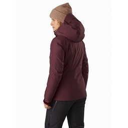 Andessa Jacket Women's Dark Inertia Back View