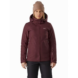 Andessa Jacket Women's Dark Inertia Front View