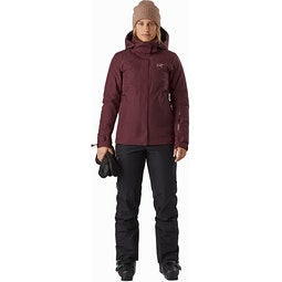 Andessa Jacket Women's Dark Inertia Full View