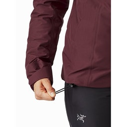 Andessa Jacket Women's Dark Inertia Hem Adjuster