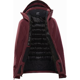 Andessa Jacket Women's Dark Inertia Internal View