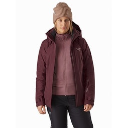 Andessa Jacket Women's Dark Inertia Open View