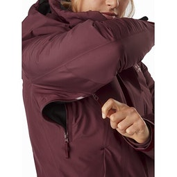 Andessa Jacket Women's Dark Inertia Pit Zip