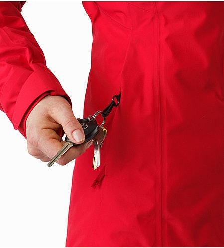 Andessa Jacket Women's Radicchio Key Clip