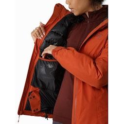 Andessa Jacket Women's Sunhaven Internal Dump Pocket
