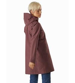 Andra Coat Women's Inertia Back View 1