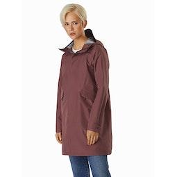 Andra Coat Women's Inertia Front View