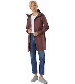 Andra Coat Women's Inertia Full View