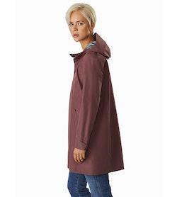Andra Coat Women's Inertia Side View