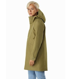 Andra Coat Women's Symbiome Side view