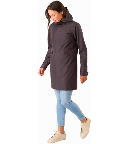 Andra Coat Women's Whiskey Jack Front View