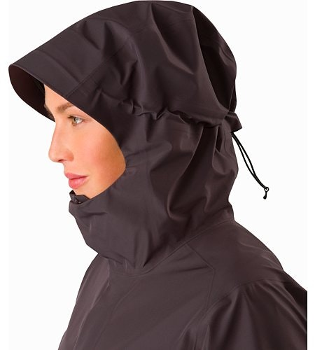 Andra Coat Women's Whiskey Jack Hood Up