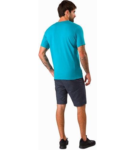 Anzo T-Shirt Dark Firoza Rückansicht