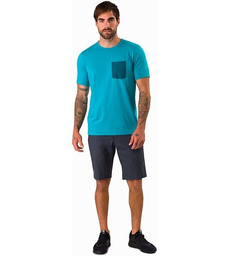 Anzo T-Shirt Dark Firoza Vorderansicht