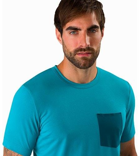 Anzo T-Shirt Dark Firoza Ausschnitt