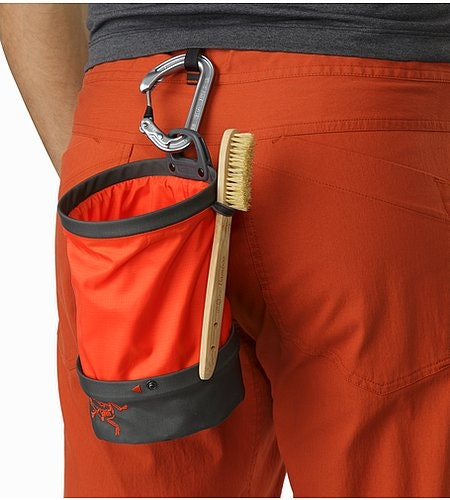 Aperture Chalk Bag - Large Pilot Flare Brush Holder