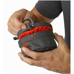 Aperture Chalk Bag - Large Pilot Flare Snap Closure