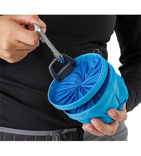 Aperture Chalk Bag Small Vultee Blue Closed