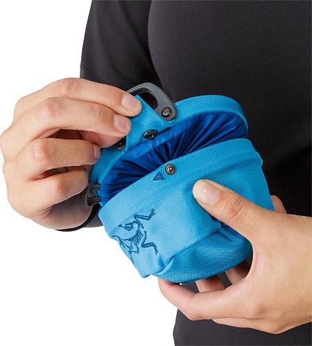 Aperture Chalk Bag Small Vultee Blue Snap Closure