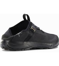 Arakys Approach Shoe Black Heel Back View