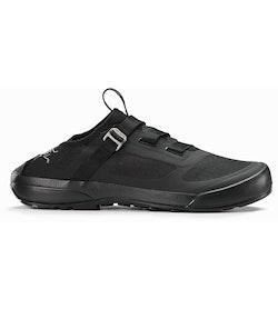 Arakys Approach Shoe Black Heel Profile
