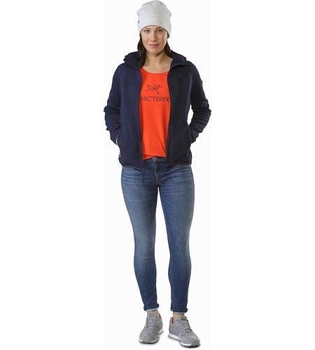 Arc'Word T-Shirt Women's Aurora Front View