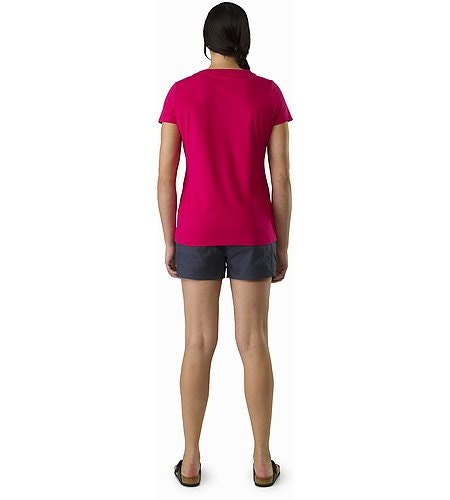 Arc'Word T-Shirt Women's Ixora Back View