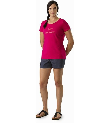Arc'Word T-Shirt Women's Ixora Front View