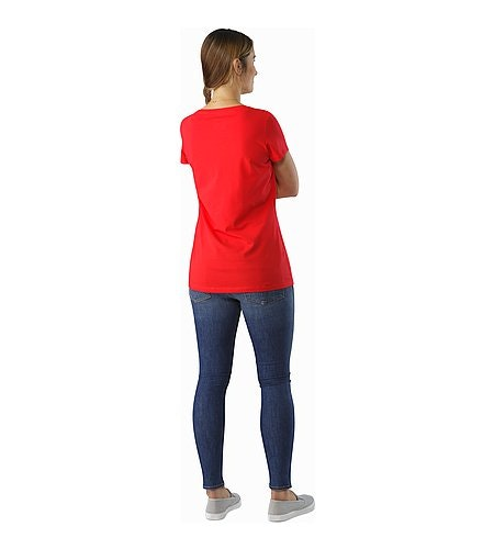 Arc'Word T-Shirt Women's Rad Back View