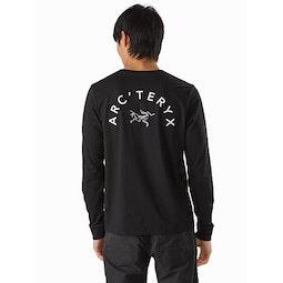 Arch'teryx T-Shirt LS Black II Back View