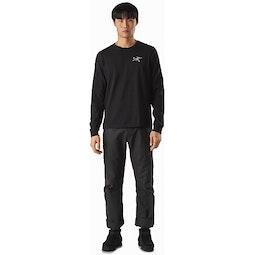 Arch'teryx T-Shirt LS Black II Full View
