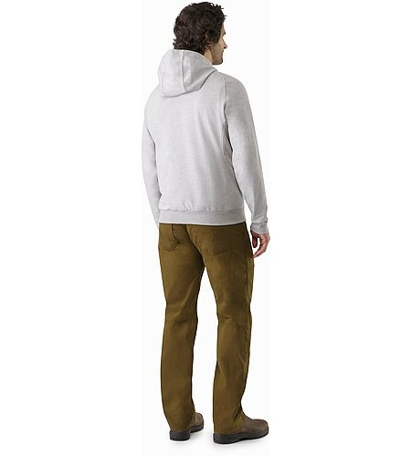 Archaeopteryx Pullover Hoody Light Grey Heather Back View